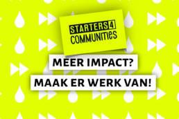 Starters4Communities Aanbod